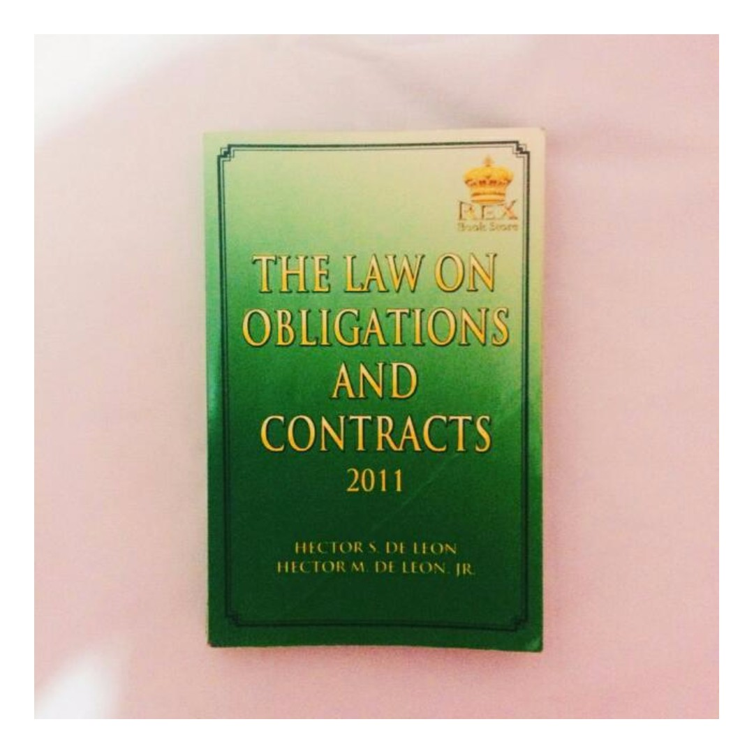 The Laws on Obligations and Contracts 2011