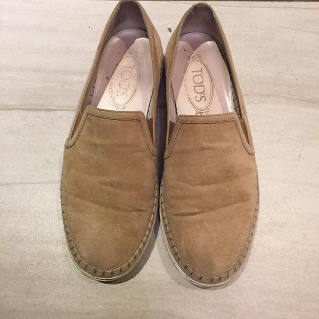 Tods 麂皮 便鞋 休閒鞋 38.5 Prada bv 豆豆鞋