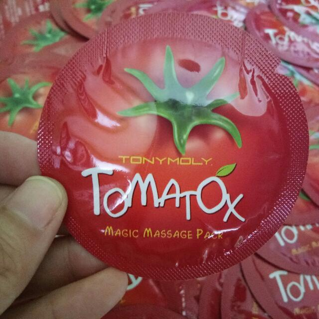 tomatox massage mask tony moly