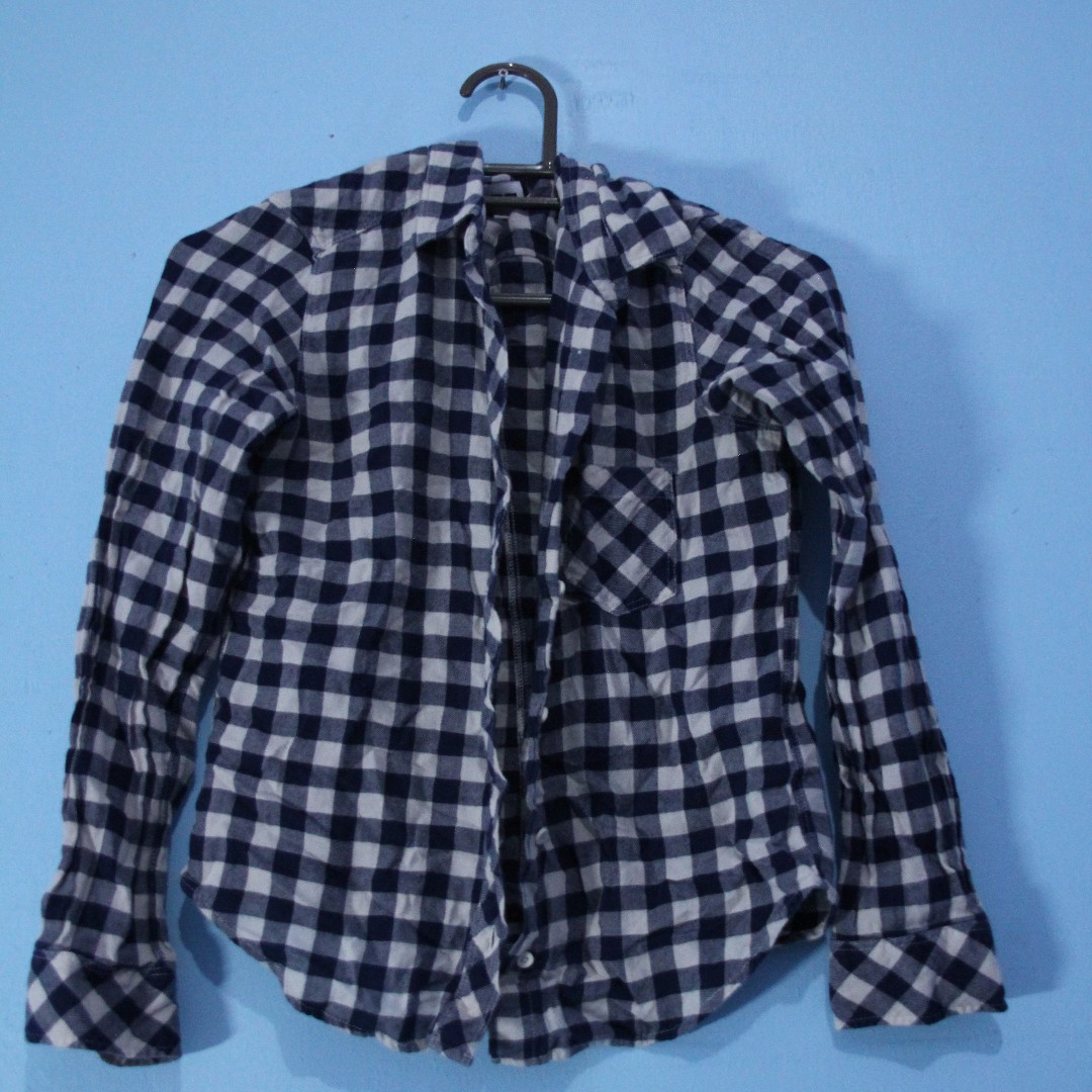 UNIQLO Checkered Flannel Shirt