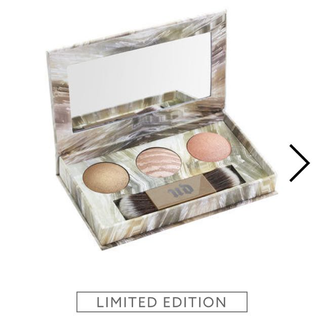 Urban Decay Naked Illuminated Trio (limited Edition)