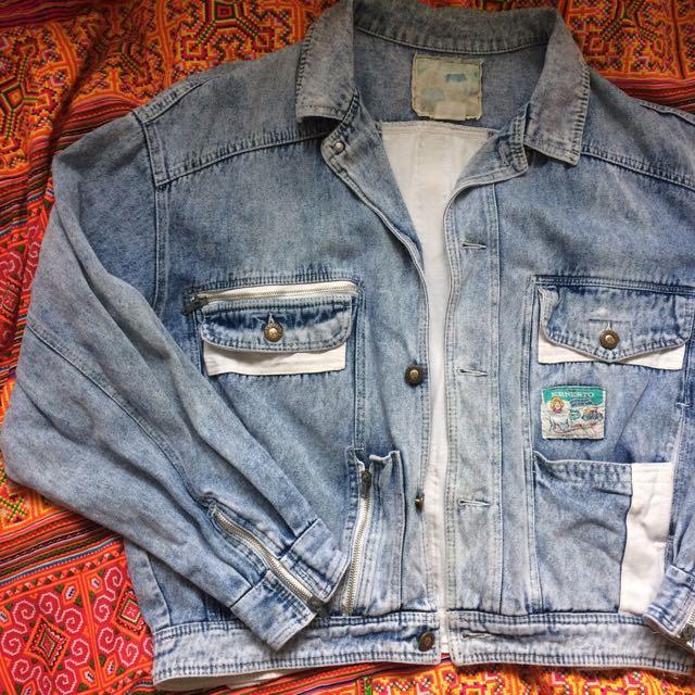 ❌Vintage denim jacket