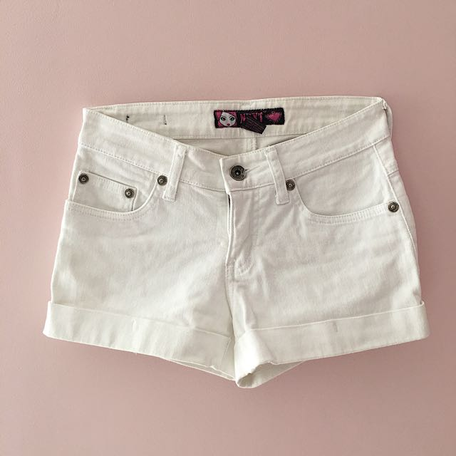 White Shorts From Next