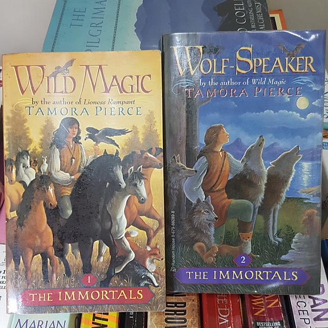 Wild Magic & Wolf-Speaker By Tamora Pierce