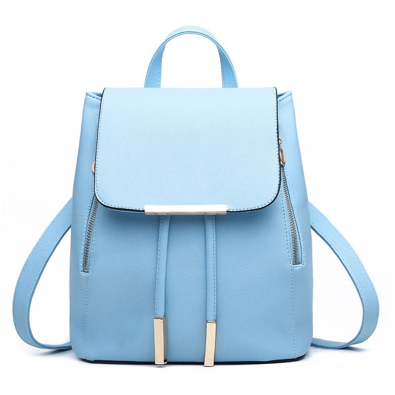 161902e5a8 Women s Leather Bags Classic Mini Backpack Shoulder Bag Travel ...