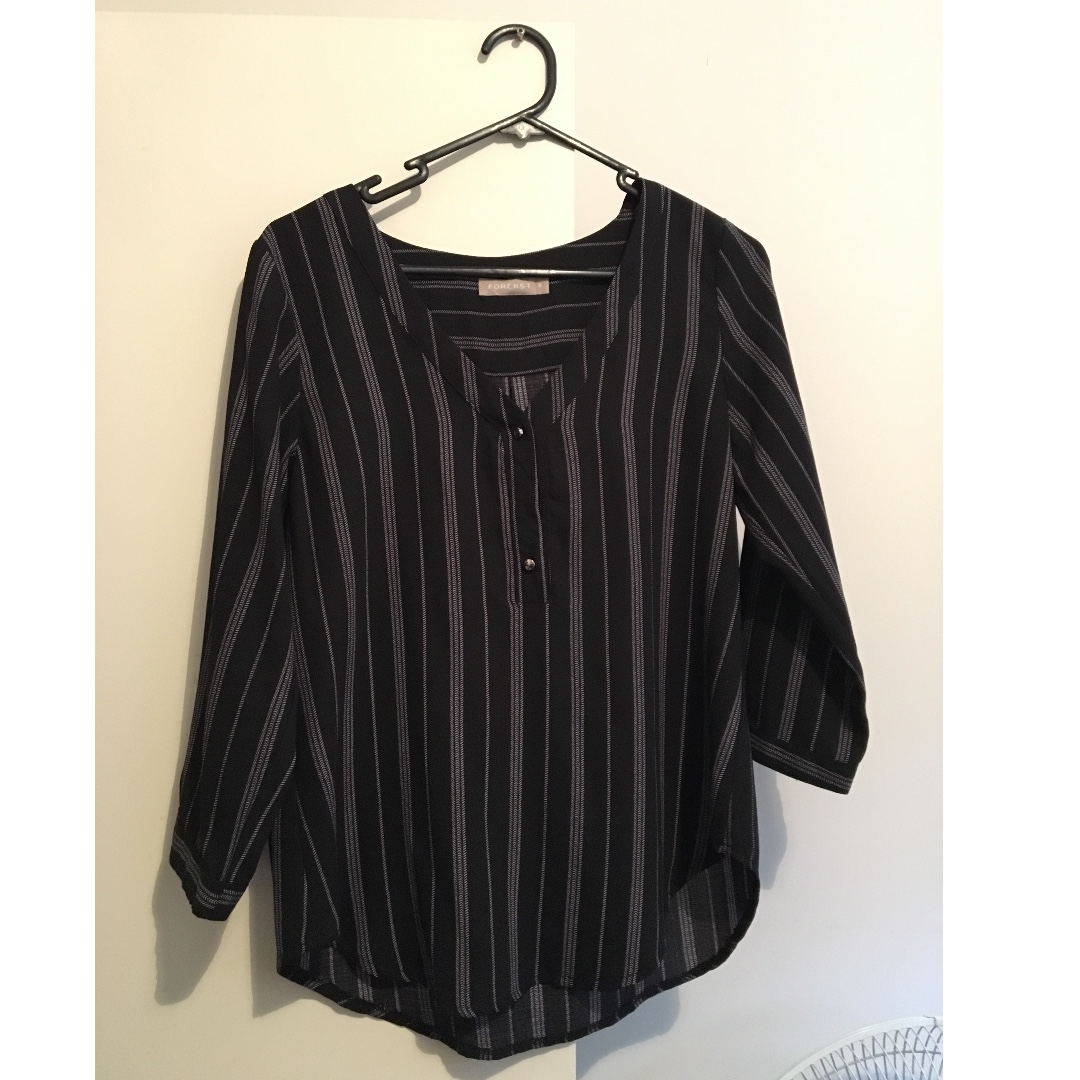 work blouse, size 8