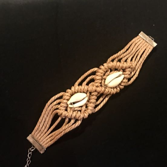 Woven Shell Bracelet/Bangle