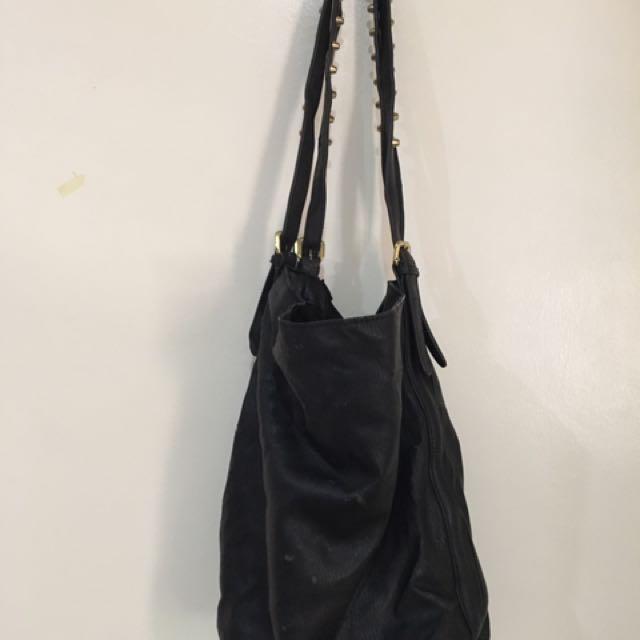Zara Basic Hobo Bag