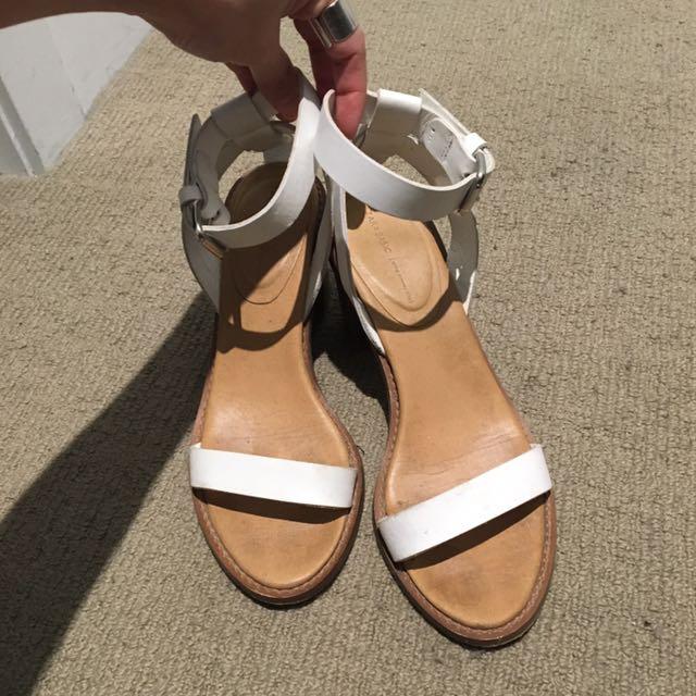 Zara Heels Leather