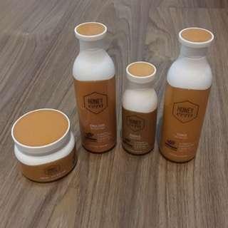 Etude honey cera skin care