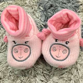 Mothercare Baby Booties Size 0-6 Months