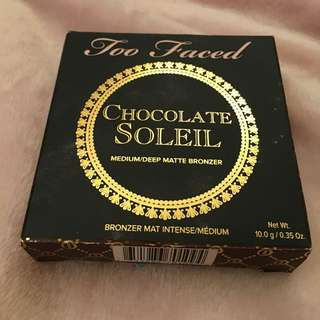 ~ Too Faced Chocolate Soleil ~