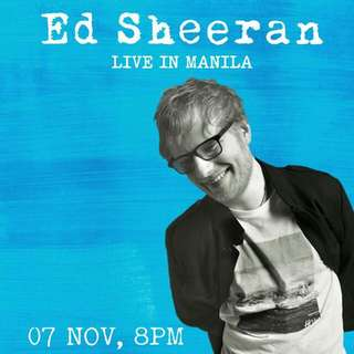 PATRON A TICKETS - DIVIDE TOUR: ED SHEERAN LIVE IN MANILA