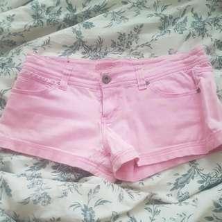 Pink Medium Shorts