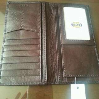 Authentic Fossil Men's Wallet From U.S