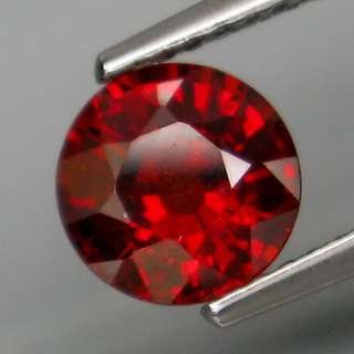 1.58ct Natural Red Spessartite Garnet
