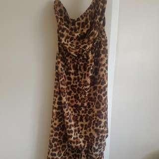 Woman Tube Top Long Dress