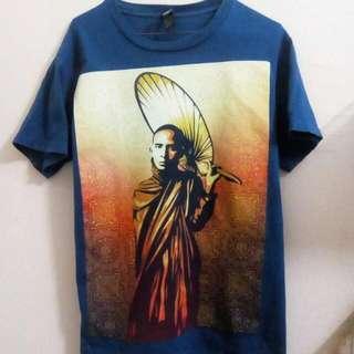Obey Monk In Burma T-shirt