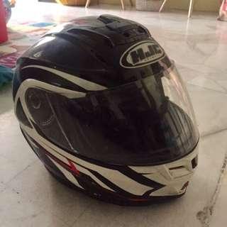 Helmet Full Face Flip Up