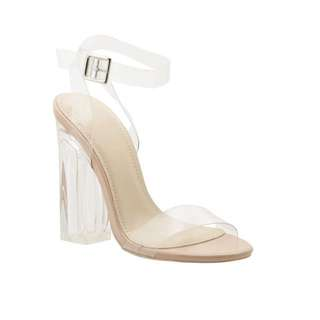 Clear/transperent Heels