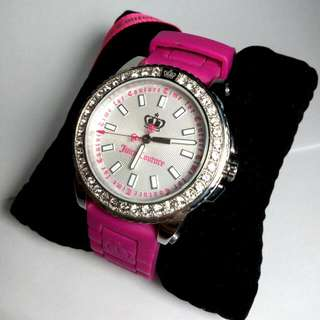 Juicy Couture Timepiece - Watch Brand New Swarovski Crystal Embellishments