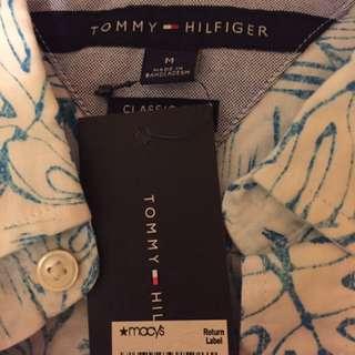全新Tommy 夏威夷短袖裇衫shirt