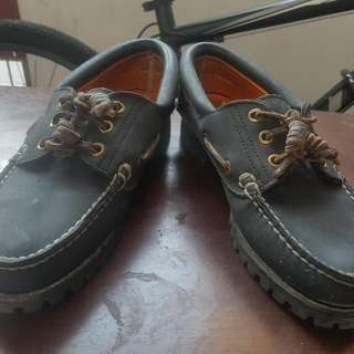 Timberland Genuine Leather Boat Shoes