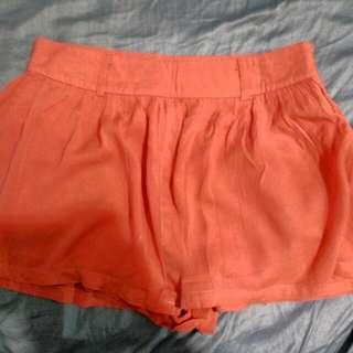 Costa Blanca Skort (short/skirt) - Peach Pink Color