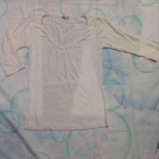 Kaos Putih Pjg