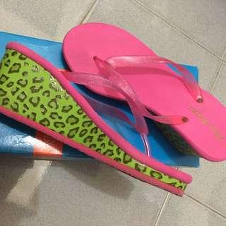 Maxmillan Wedge Slippers
