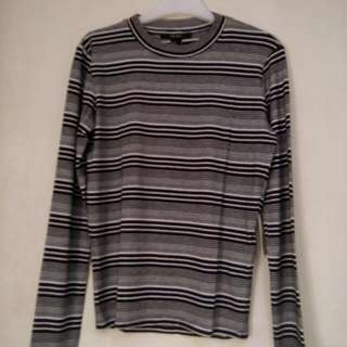 Forever 21 Stripes Long Sleeves