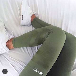Green Aimn Tights