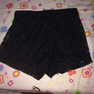 terranova laced shorts