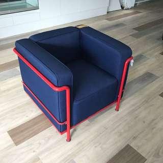 北歐造型單人沙發