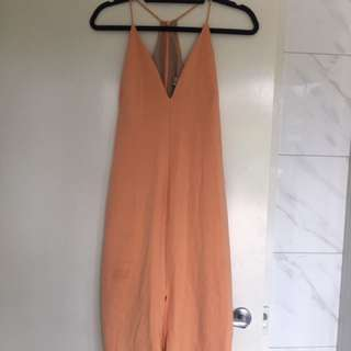 Blessed Are The Meek Orange Formal Dress