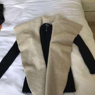SHEIKE Waterfall Fur Jacket XS