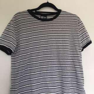 T-Bar Striped Tshirt