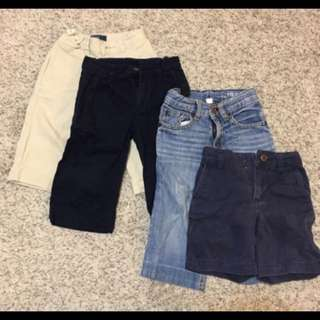5 pairs of Boys Ralph Lauren and Gap pants - 2yo