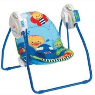 Brand New in Box : Fisher Price Open Top Take Along Swing