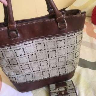 Liz Claiborne Bag and Wallet Bundle
