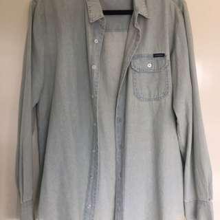 Ghanda Denim Shirt Size 14