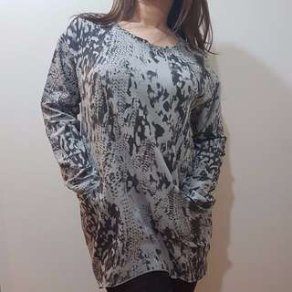 Splash Patterned Top