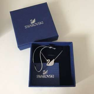 Swarovski Swan Necklace