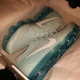 Nike Air Vapormax Flyknit Sz 9 Glacier Blue
