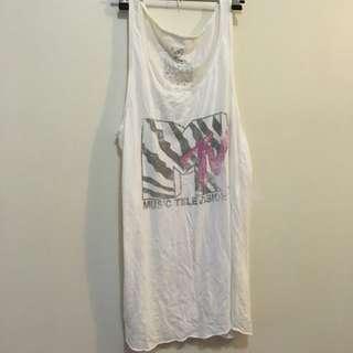 Singlet Size S MTV