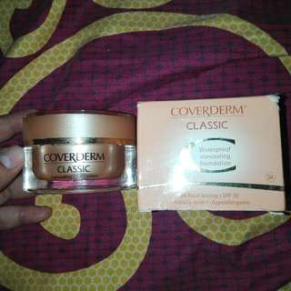 Coverderm Classic Waterproof Concealing Foundation
