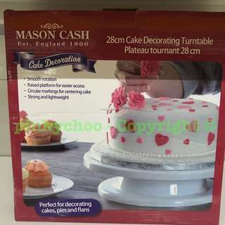 Cake Decorating Turntable Stand 28cm (brand New)