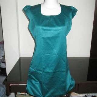 Tosca Satin Mini Dress