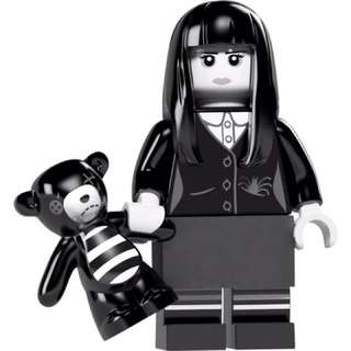 Lego 第12代人仔 黑白女 71007