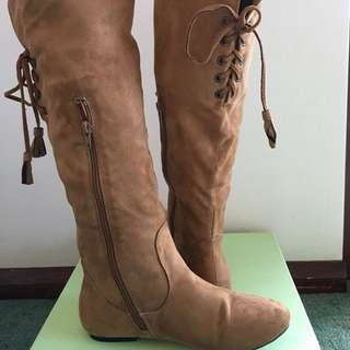 Brand New Knee Length Boots Size 37
